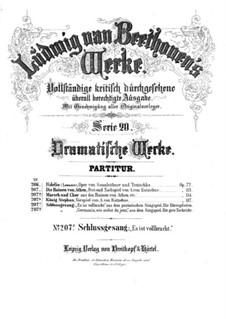 It is fulfilled, WoO 97: It is fulfilled by Ludwig van Beethoven
