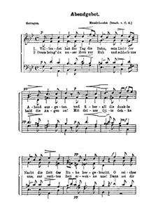Abendgebet: Abendgebet by Felix Mendelssohn-Bartholdy