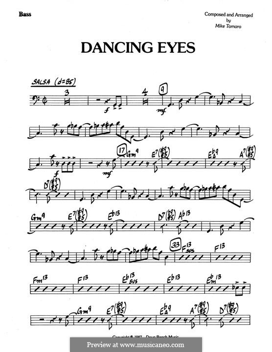 Dancing Eyes: parte baixo by Mike Tomaro