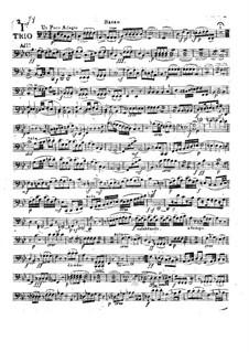 Three String Trios, Op.6: parte violoncelo by Camillo Barni