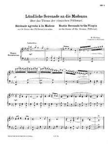 Rustic Serenade to the Madonna, for Organ (or Harmonium), H.98: Rustic Serenade to the Madonna, for Organ (or Harmonium) by Hector Berlioz