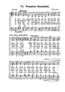 Deutsches Bundeslied: Deutsches Bundeslied by folklore