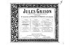 Organ Music. Second Collection: livro I by Jules Grison