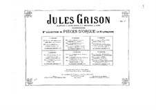 Organ Music. Second Collection: livros IV by Jules Grison