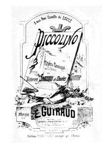 Piccolino: arranjo para piano by Ernest Guiraud