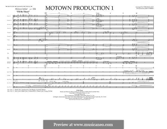 Motown Production 1: partitura by Michael Jackson