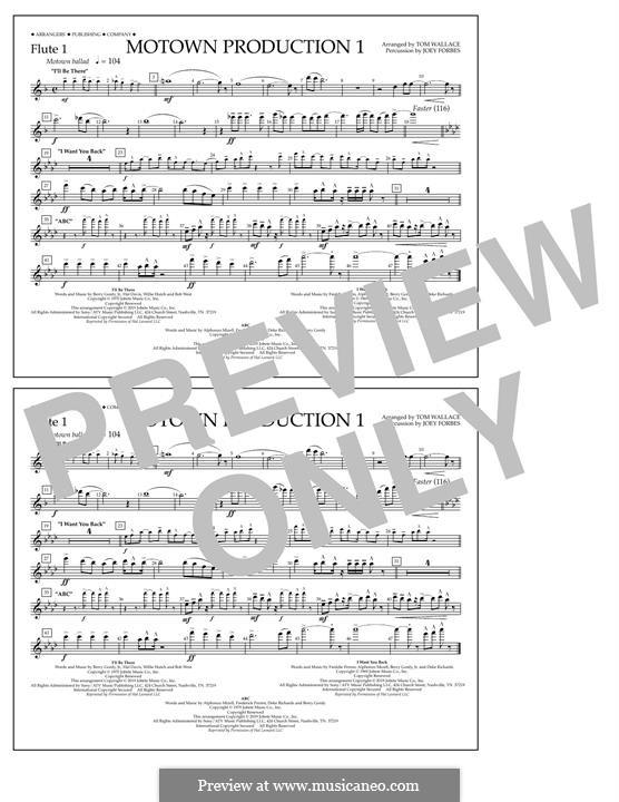 Motown Production 1: Flute 1 part by Michael Jackson