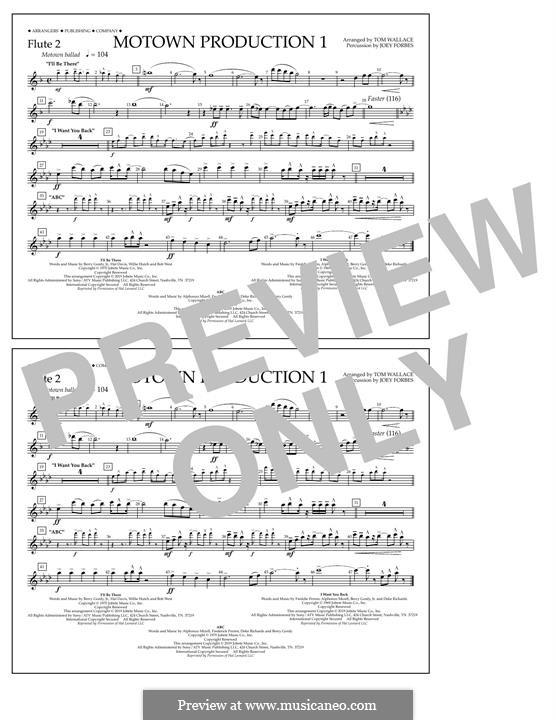Motown Production 1: Flute 2 part by Michael Jackson