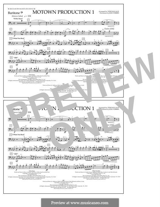 Motown Production 1: Baritone B.C. part by Michael Jackson
