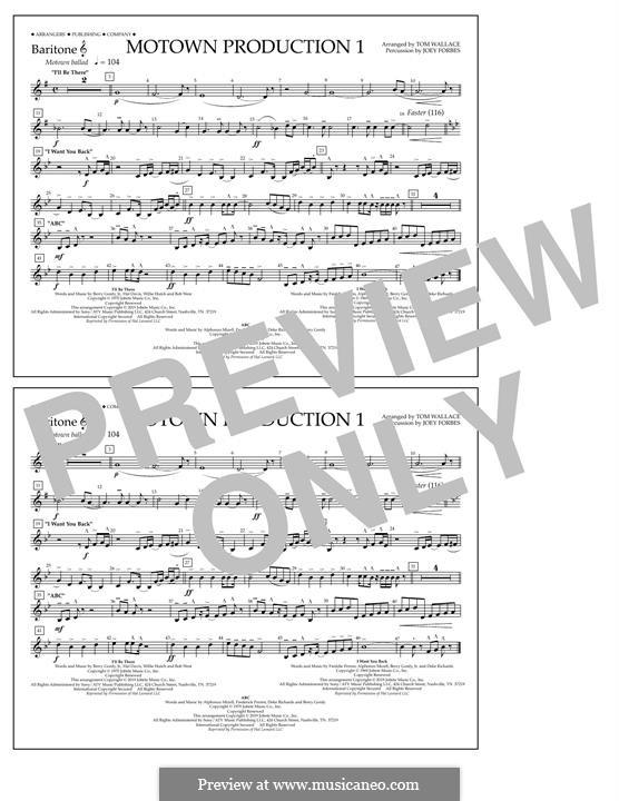 Motown Production 1: Baritone T.C. part by Michael Jackson