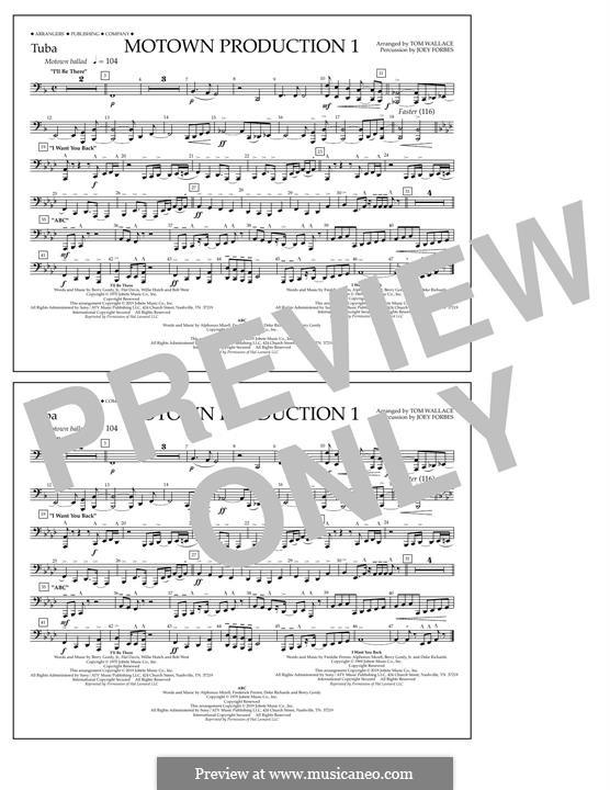 Motown Production 1: Tuba, partes by Michael Jackson