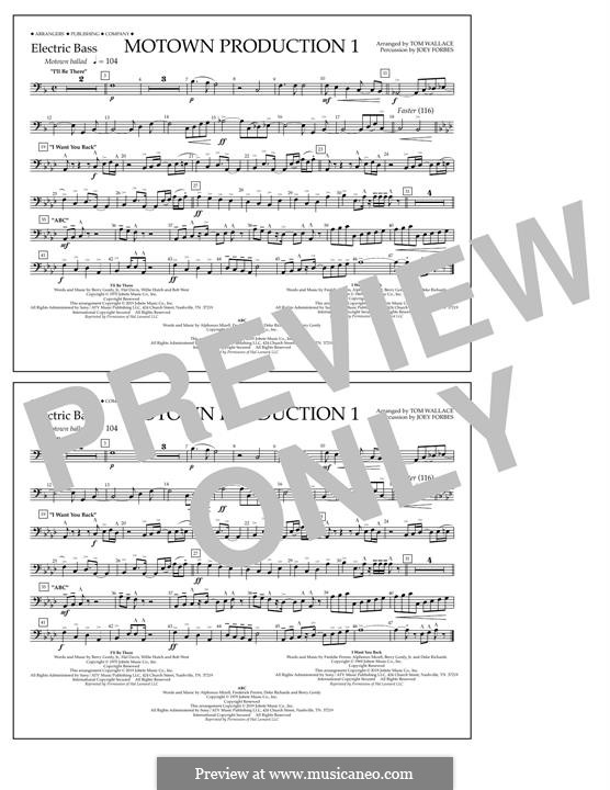 Motown Production 1: Electric Bass part by Michael Jackson