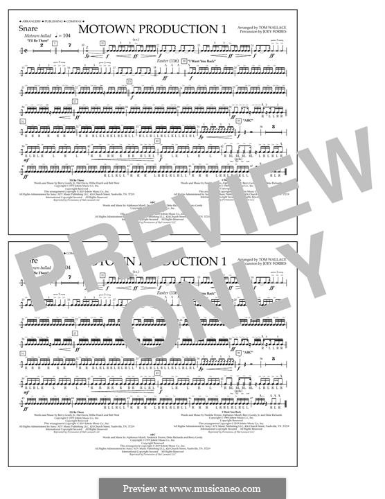 Motown Production 1: Snare part by Michael Jackson