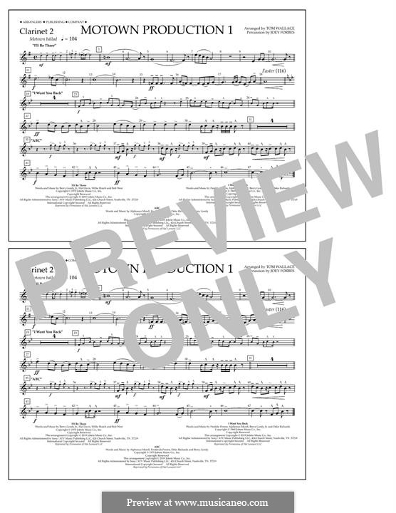 Motown Production 1: Clarinet 2 part by Michael Jackson