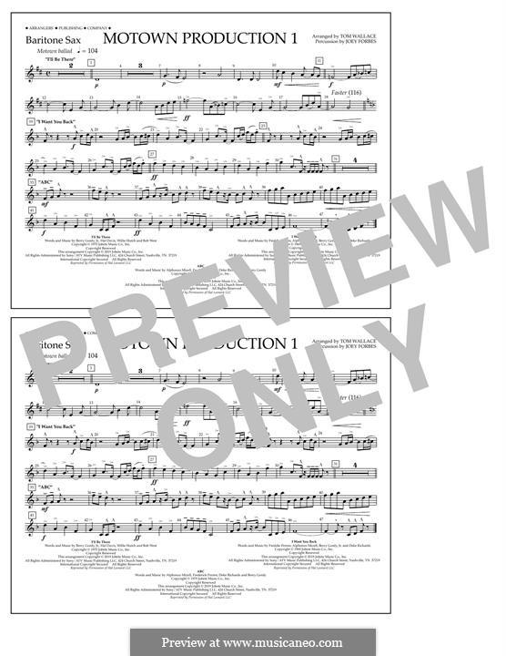 Motown Production 1: Baritone Sax part by Michael Jackson