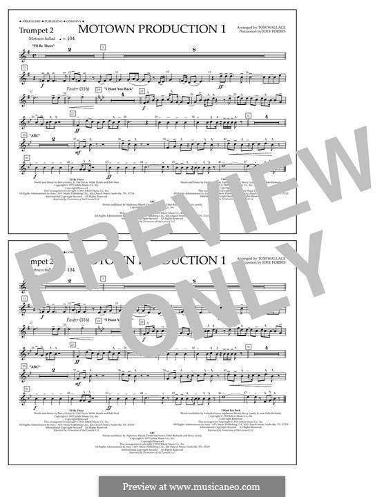 Motown Production 1: Trumpet 2 part by Michael Jackson