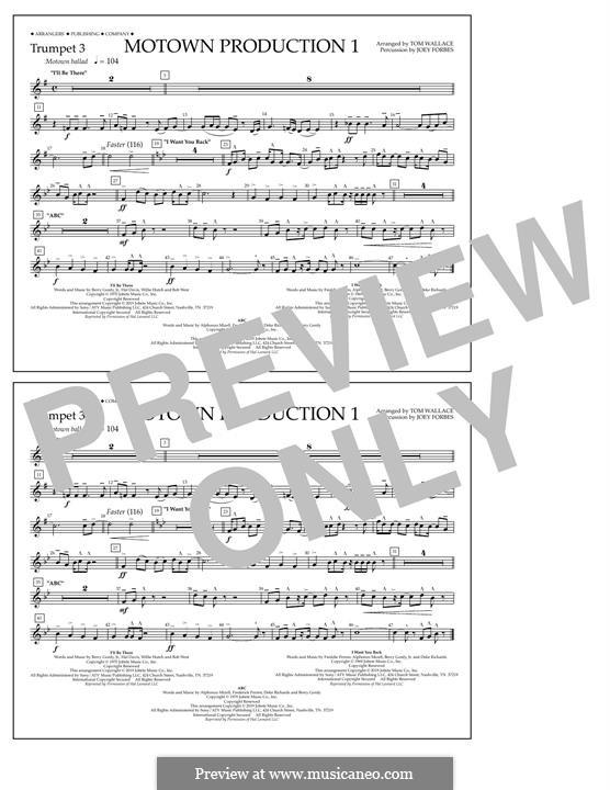 Motown Production 1: Trumpet 3 part by Michael Jackson