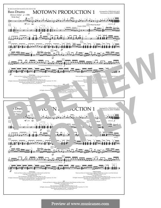 Motown Production 1: Bass Drums part by Michael Jackson