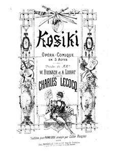 Kosiki: Kosiki by Charles Lecocq