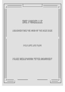 Die Forelle (The Trout), D.550 Op.32: para flauta e piano by Franz Schubert