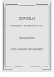 Die Forelle (The Trout), D.550 Op.32: para violino by Franz Schubert