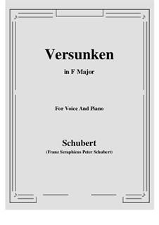 Heimliches Lieben (Secret Love), D.922 Op.106 No.1: G maior by Franz Schubert