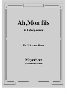 Le prophète (The Prophet): Ah, Mon fils by Giacomo Meyerbeer