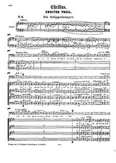 Christus, S.3: Ato II by Franz Liszt