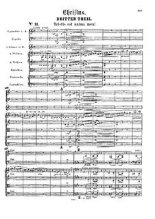 Christus, S.3: Ato III by Franz Liszt