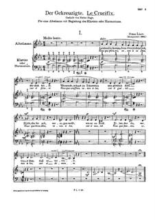 Le Crucifix, S.342: Le Crucifix by Franz Liszt