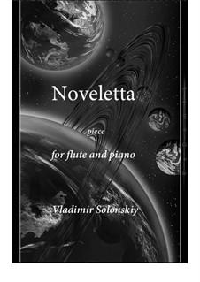 Noveletta: para flauta e piano by Vladimir Solonskiy