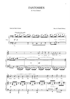 Fantoshes: Fantoshes by Claude Debussy