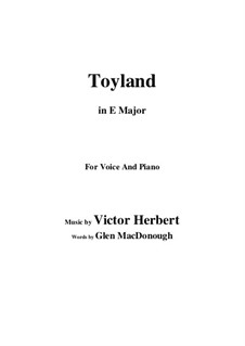 Toyland: E Major by Victor Herbert