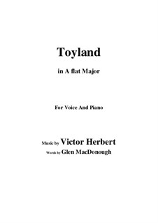 Toyland: A flat Major by Victor Herbert