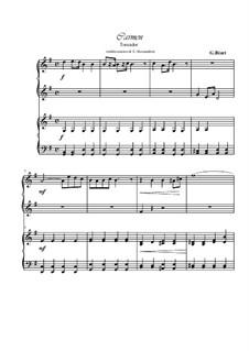 Toreador's Song: para piano de quadro mãos by Georges Bizet