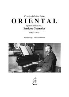 Twelve Spanish Dances: eletronica No 2 by Enrique Granados