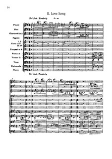 Suite for Orchestra No.2 'Indian', Op.48: Movement II 'Love Song' by Edward MacDowell