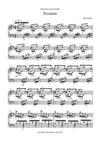Toccatina for piano