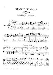 Do You Know Me, Op.381: Do You Know Me by Johann Strauss (Sohn)