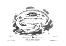 Iris-Walzer, Op.75: Iris-Walzer by Johann Strauss Sr.