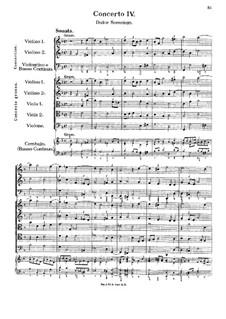 Concerto No.4 in G Minor 'Dulce Somnium': Concerto No.4 in G Minor 'Dulce Somnium' by Georg Muffat