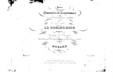 Quadrille No.2 on 'Le domino noir' by D. Auber: Quadrille No.2 on 'Le domino noir' by D. Auber by Philippe Musard