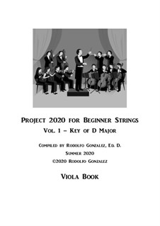 Project 2020 for Beginner Strings: Viola Book by folklore