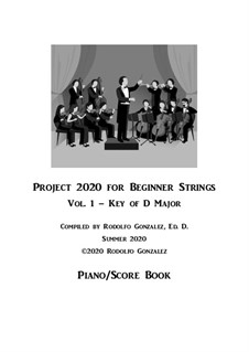 Project 2020 for Beginner Strings: Piano/Score by folklore