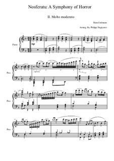 Nosferatu: A Symphony of Horror: movimento II by Hans Erdmann