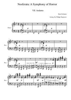 Nosferatu: A Symphony of Horror: Movement VII by Hans Erdmann