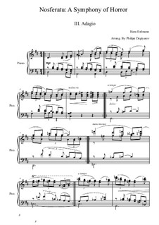 Nosferatu: A Symphony of Horror: movimento III by Hans Erdmann