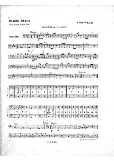Barbe-bleue (Bluebeard): parte violoncelos e contrabaixos by Jacques Offenbach