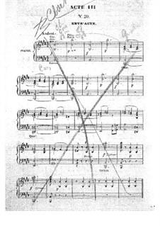 Barbe-bleue (Bluebeard): ato III,para vozes e piano by Jacques Offenbach