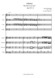 Alleluja: For octet by Dietrich Buxtehude